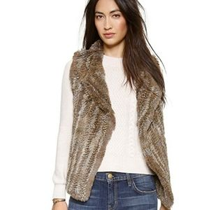 Adoni  Joie Rabbit Fur vest